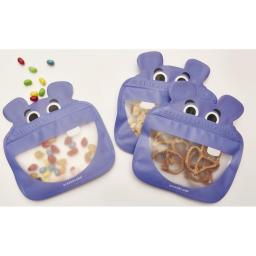 Frischhaltebeutel Hippo 18.5 cm x 19.5 cm, 3 Stück