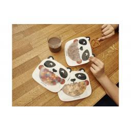 Frischhaltebeutel Panda 17.4 cm x 19.5 cm, 3 Stück