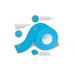 Tape Classic Blau 5 cm x 5 m 6 Stück
