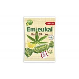 Em-eukal Hanf-Zitrone Bonbons zuckerfrei 75 g