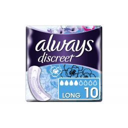 Inkontinenz Einlagen Discreet Long 10 Stück