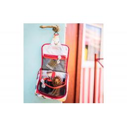 Necessaire Toiletbag S Kids Cats and Dogs Rosa