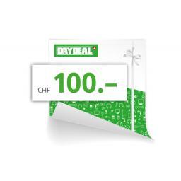 Online-Geschenkgutschein CHF 100.-