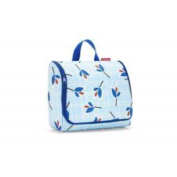 Necessaire Toiletbag XL Leaves Blue