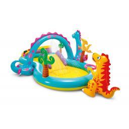 Wasser-Spielplatz Dinoland Play Center Mehrfarbig