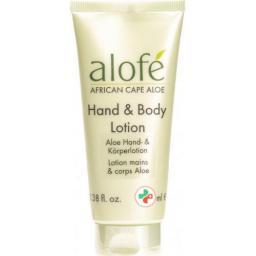 Alofe Aloe Hand And Body лосьон в тюбике 100мл