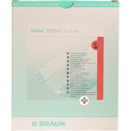 Askina THINSite Hydroaktiver повязка для ран 10x10см 10 штук