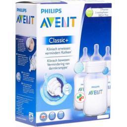 Avent Philips Babyflasche Airflex Trio 3x 260мл