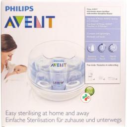 Avent Philips Dampfsterilisator Mikrowel Expr