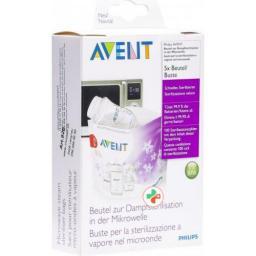 Avent Philips Mikrowellen-Sterilisations в пакетиках
