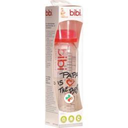 Bibi Antikolik-Flasche Glas 240мл Papa