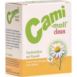 Cami Moll Clean влажные салфеткив пакетиках 10 штук