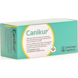 Canikur Futtermittel жевательные таблетки 4.4г Hund 12 штук