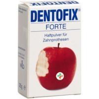 Дентофикс Форте порошок для фиксации зубных протезов 25 г