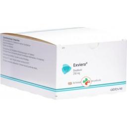 Эксвира 250 мг 56 таблеток покрытых оболочкой