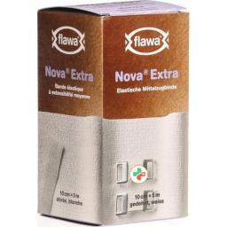 Flawa Nova Extra эластичный Mittelzugbinde 10смx5m Weiss