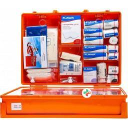 Flawa Sport Verbandkoffer Maxi Komplett Orange