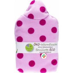 Frosch Oko-Warmflasche 0.8л Fleecebezug Pin Punk