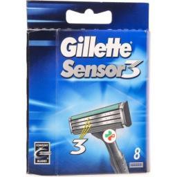 Gillette Sensor3 Ersatzklingen 8 штук