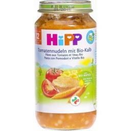 Hipp Tomatennudeln mit Kalb Glas 250г