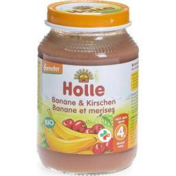 Holle Banane & Kirschen 190г