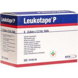 Leukotape P Spezial-Tapeverband 13.7m x 3.8см 6 штук