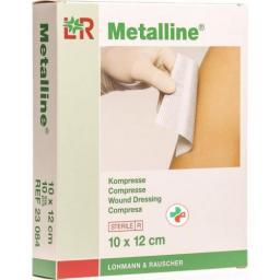 Metalline Kompressen стерильный 10x12см 10 пакетиков