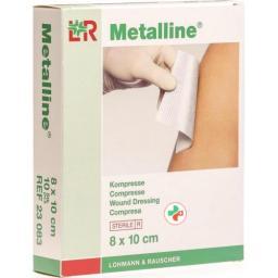 Metalline Kompressen стерильный 8x10см 10 пакетиков