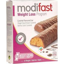 Modifast Weight Loss Program Riegel Caramel 6x 31г