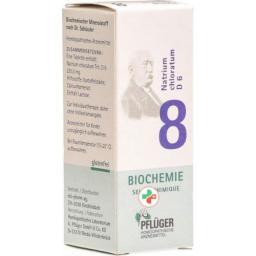 Pflueger Schussler Nr. 8 Natr Chlor в таблетках, D 6 25г