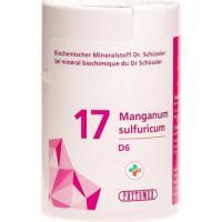 Phytomed Schussler Nr. 17 Mang Sulf в таблетках, D 6 100г
