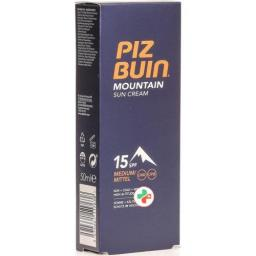 Piz Buin Mountain крем SPF 15 в тюбике 50мл