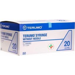 Terumo Injektionsspray 3-teilig 20мл Exzentrisch 50 штук