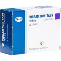 Вибрамицин 100 мг 25 таблеток