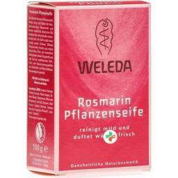 Weleda Rosmarin Pflanzenseife 100г