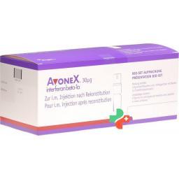 Авонекс раствор для инъекций30 мкг 4 заполненных шприца по 0,5 мл