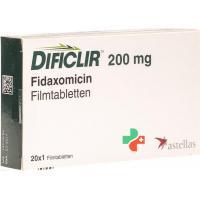 Дификлир 200 мг 20 таблеток покрытых оболочкой