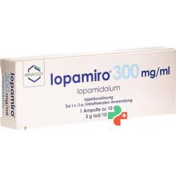 Йопамиро 300 мг/мл ампула 10 мл раствор для инъекций