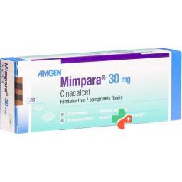Мимпара 30 мг 28 таблеток покрытых оболочкой