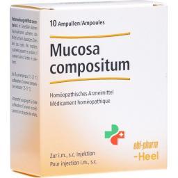 Мукоза Суис Композитум Хель раствор для инъекций 10 ампул по 2.2 мл