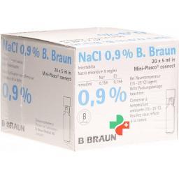 Натрия хлоридБраун 0.9% 5 мл